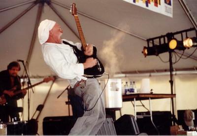 "Bill ""The Sauce Boss"" Wharton scorching Piedmont Park Atlanta, GA 1990s"