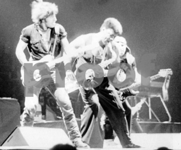 The Boss, Clarence, Stevie - Greensboro Coliseum, 1980s