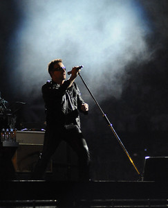 The band U2 performs at Vanderbilt Stadium in Nashville Saturday, July 2, 2011. By David Bundy