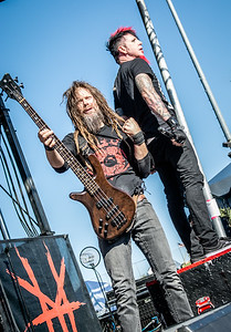 Hell yeah Band, Kyle Sanders & Chad Gray
