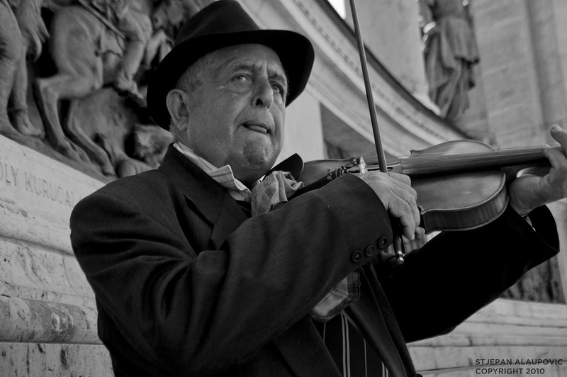 Budapest Street Performer