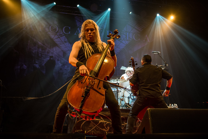 Eicca Toppinen of Apocalyptica