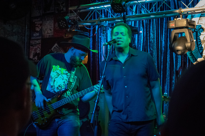 "The Bullcat Jones Band at Three Links in Deep Ellum, Dallas, TX - The Band: Stevan Koye (Guitar), Kenne Earl (Vocals), Brian ""Cuban"" Ascanio (Drummer), and Travis Tompkins (Bass). 3/13/15  (Photography by Randy Stewart - www.NoPhotosAllowed.com)"