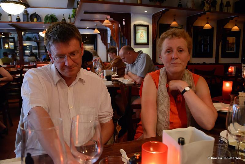 Eja og Jan diskuterer næste stop