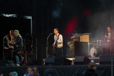 The Blue Van til koncert ved Ikast Musikliv
