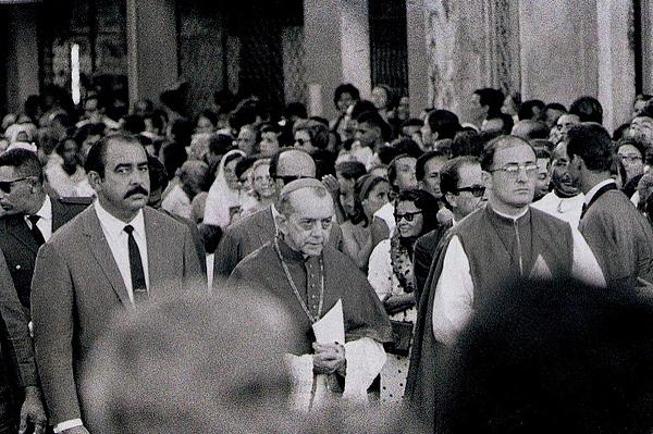 Dom Helder Camara, Archbishop of Recife and Olinda. 1968