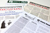 various newsletters over the years