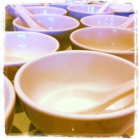 some dim sum bowls