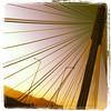 the morning commute via the new Port Mann Bridge, Surrey, BC, Canada