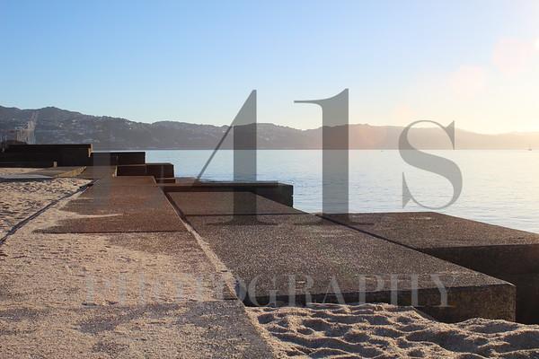 Wellington waterfront seawall