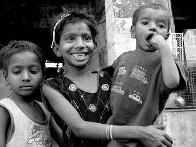 """Shy"", Mumbai, India, 2008  photograph by: Elizabeth Christopher © 2008"