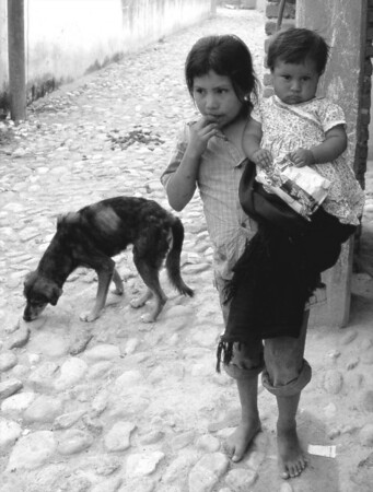 """Cobblestones and Bare Feet"", Mexico 2009  photograph by: Elizabeth Christopher © 2009"