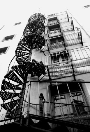 """Spiral Climb"" Guanajuato, Mexico  photography by: Elizabeth Christopher © 2009"