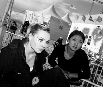 """""""Before the Show"""" 2006  photograph by: Elizabeth Christopher © 2006"""
