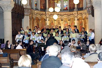 Concert de l'Avent 2006 - Eglise Saint Fiacre   pendant le raccord