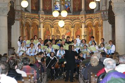 Concert de l'Avent 2006 - Eglise Saint Fiacre