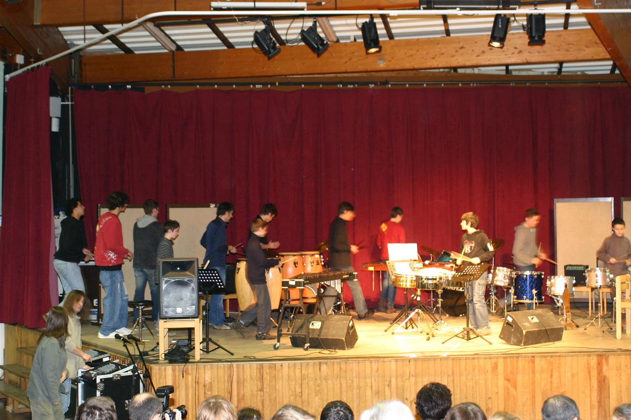 Classe de percussion de M. Artzer