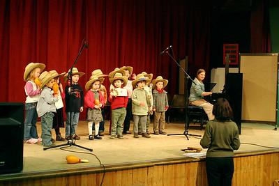 répétition concert FM 2006 - 32 Classes d'éveil/initiation