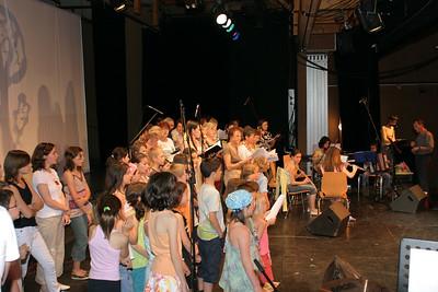 La belle Irène et éveil - 2007 - 16 En répétition