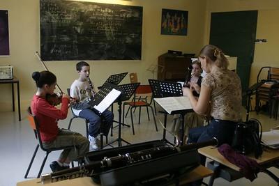 classe musique de chambre - 6 animée par S. Villedary