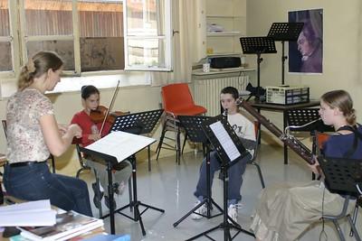 classe musique de chambre - 4 animée par S. Villedary