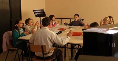 cours de formation musicale - 3 classe de P. Sénécal (IM1)