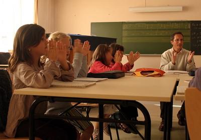cours de formation musicale - 2 classe de P. Sénécal (IM1)
