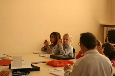 cours de formation musicale - 4 classe de P. Sénécal (IM1)