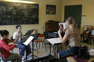 classe musique de chambre - 5 animée par S. Villedary