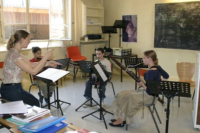classe musique de chambre - 3 animée par S. Villedary