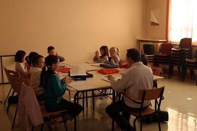 cours de formation musicale - 5 classe de P. Sénécal (IM1)