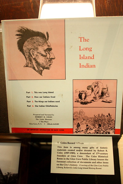 "North Shore Historical Museum, Glen Street, Glen Cove, 26 May 2018; ""The Long Island Indian"", a recorded lecture by Robert Reed Coles"