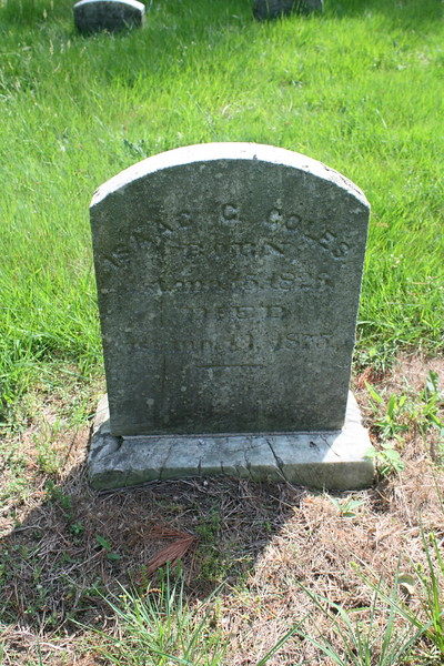 Isaac C Coles (1826-1875); First cousin, 4x removed