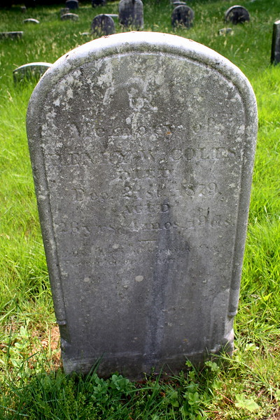 Henry W Coles, d. 21-Dec-1879, age 26; Son of Henry Coles + Martha Frost