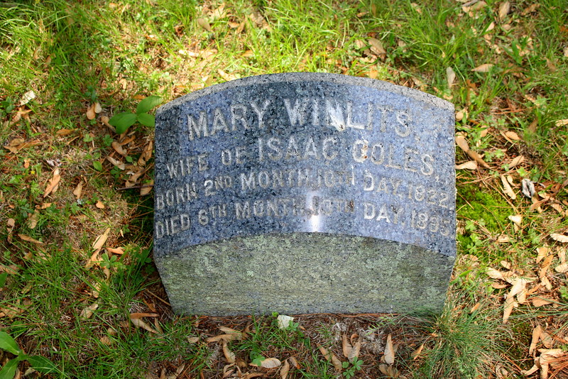 Mary Willets Coles (1822-1895)