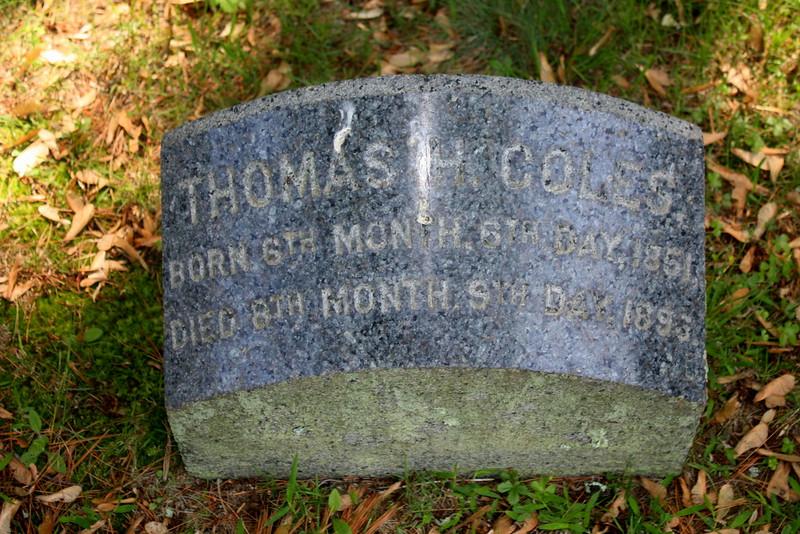 Thomas H Coles (1851-1893)