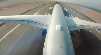 Landing in Doha