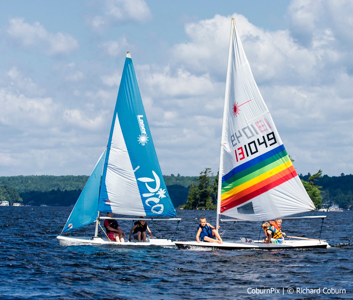 Laser & Pico Sailing Side by Side