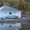 Fred's boat house early Thanksgiving morning