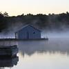 October morning mist