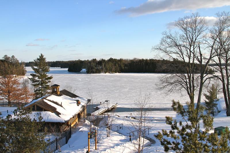 Looking at Lake Rosseau, Muskoka, ON