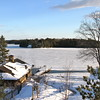 Looking at Lake Rosseau, Muskoka, ON