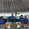 NLSO finishes playing at the Rosseau Market on Lake Rosseau in Muskoka