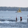 Clevelands House Resort Monday night ski-show with Summer Water Sports in Muskoka, Ontario July 30, 2102