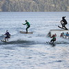Summer Water Sports Monday Night Ski Show at Clevelands House Resort in  Muskoka , Ontario. Batman 2012 Theme