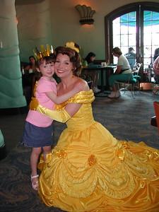 2006   San Diego Zoo  ,  Disney California , Princess  Lunch 167