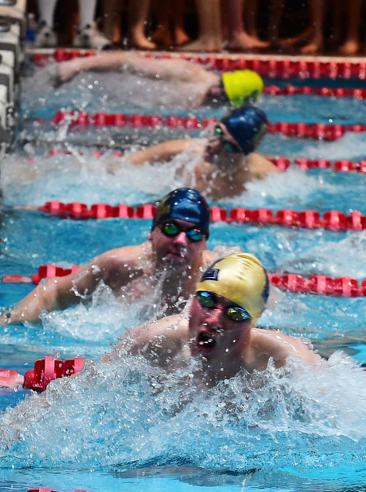 Mustang Invite Boys Swimming