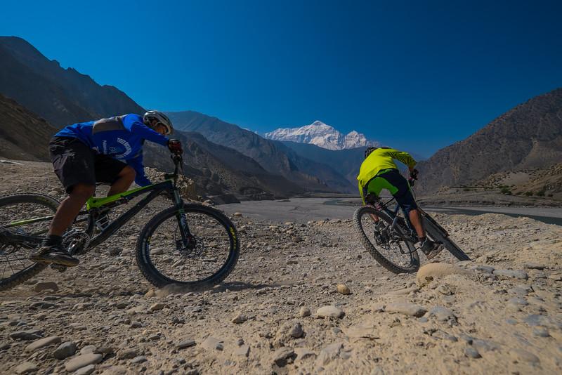 Lower Mustang, Nepal, mountain biking