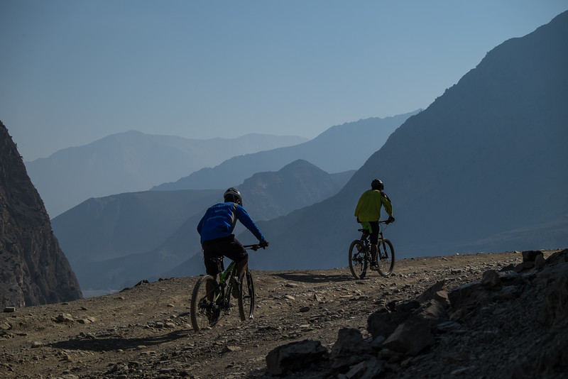 Lower Mustang, Nepal, mountain biking