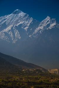 Jomsom, Lower Mustang, Nepal, mountain biking